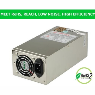 SS-2U50ES (500W Single Power Supply for 2U)